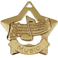 Mini Star Music Medal</br>AM710G